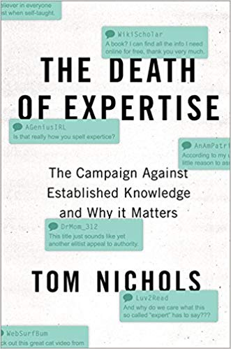 The Death of Expertise Audiobook - Thomas M. Nichols Free